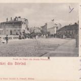 SALUTARI DIN  BARLAD  PODUL DE PIATRA DIN STRADA PRINCIPALA , CLASICA CIRC. 1900