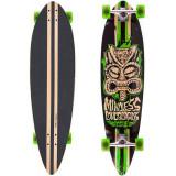 """Longboard Mindless Longboards Tribal Rogue II black/green 38""""/96cm"""