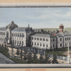IASI   UNIVERSITATEA  CIRCULATA  1912, Printata