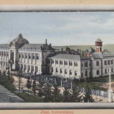 IASI UNIVERSITATEA CIRCULATA 1912 - Carte Postala Moldova 1904-1918, Tip: Printata