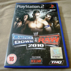 Joc WWE Smack Down vs Raw 2010, PS2, original, alte sute de jocuri! - Jocuri PS2 Thq, Sporturi, 16+, Multiplayer