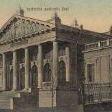 IASI, INSTITUTUL ANATOMIC IASI - Carte Postala Moldova 1904-1918, Stare: Circulata, Tip: Printata