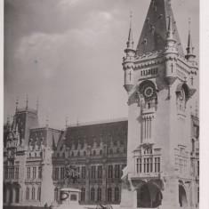 IASI MOLDOVA PALATUL ADMINISTRATIV - Carte Postala Moldova dupa 1918, Necirculata, Fotografie