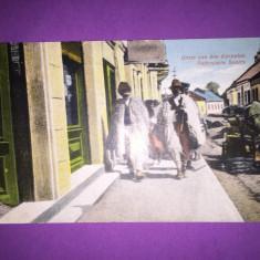 Bukowina - Ruteni - Ciobani - Carte Postala Bucovina 1904-1918, Circulata, Fotografie
