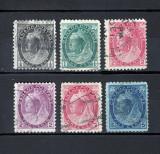 CANADA 1898 - REGINA VICTORIA VALORI STAMPILATE, Stampilat