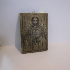 ICOANA SFANTUL GRIGORE - Icoana pe lemn