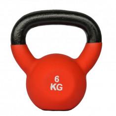 Gantera Kettlebell neopren 6kg Sportmann