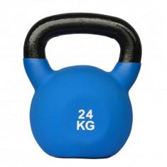 Gantera Kettlebell neopren 24kg Sportmann, 25 kg
