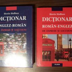 Dictionar de expresii si locutiuni englez - roman / roman - englez, 2 vol