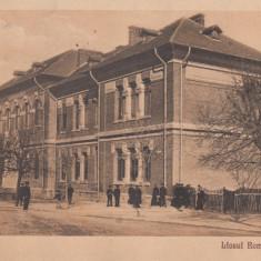 ROMAN-LICEUL ROMAN VODA, CIRCULATA APR. *927 - Carte Postala Moldova dupa 1918, Printata
