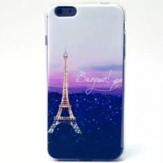Husa IPHONE 6 PLUS 5.5 silicon ultra subtire CU PARIS TURN EIFFEL NOU 2016 - Husa Telefon Apple