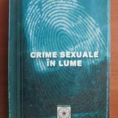 Traian Tandin - Crime sexuale in lume - Carte politiste