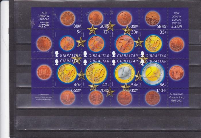 Monede ,numismatica ,Euro ,Gibraltar.