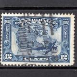 CANADA 1927 - CIRCULAT, Stampilat