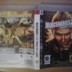 Mercenaries 2 - World in flames  - Joc PS3  ( GameLand)