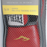 Everlast - Manusi de box Velcro Pro Style - pt antrenament - 14 oz - rosii