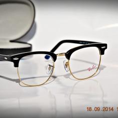 Rame de ochelari Ray Ban RB5154 2000 Clubmaster - Rama ochelari Ray Ban, Unisex, Negru, Rama intreaga, Clasic