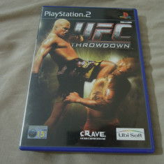 Joc UFC Throwdown, PS2, original, alte sute de jocuri! - Jocuri PS2 Ubisoft, Sporturi, 12+, Multiplayer