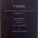 FAUNA REPUBLICII SOCIALISTE ROMANIA, ARACHNIDA, VOL. V, FASCICULA 4, FAM. CLUBIONIDAE de CLEOPATRA STERGHIU, 1985