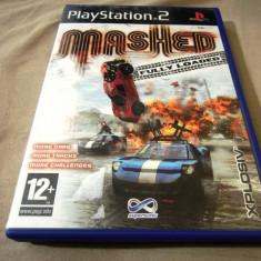 Joc Mashed Fully Loaded, PS2, original, alte sute de jocuri! - Jocuri PS2 Altele, Curse auto-moto, 3+, Single player