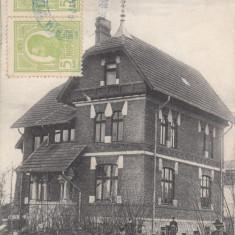 ROMAN- VILLA GIMNASIULUI, CIRCULATA JAN. *923 - Carte Postala Moldova dupa 1918, Printata