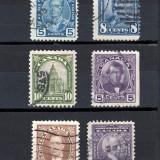 CANADA 1927-35 -   VALORI STAMPILATE, Stampilat