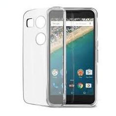 HUSA LG NEXUS 5X SILICON ULTRASLIM 0.3mm TRANSPARENT - Husa Telefon LG, Alcatel OT-918, Piele Ecologica, Cu clapeta