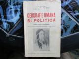GEOGRAFIE  UMANA SI POLITICA I. V. LUCA  PROF. LICEUL  LAURIAN DIN BOTOSANI 935