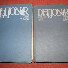 Dictionar maritim roman - englez si englez - roman - Carti Transporturi
