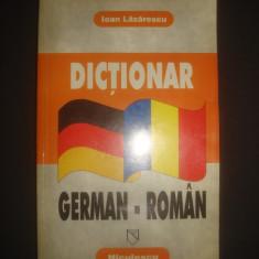IOAN LAZARESCU - DICTIONAR GERMAN - ROMAN