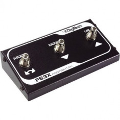 DigiTech FS3X - 3 Button Footswitch - Efect Chitara