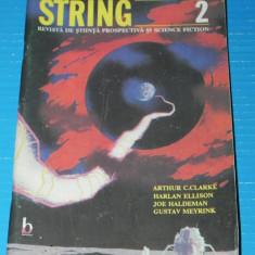 Revista STRING stiinta prospectiva si SCIENCE FICTION NR 2 harlan ellison (r5021