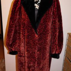 Haina de blana ecologica, Franta, spectaculosa, nr 48 - 50 - Palton dama, Culoare: Din imagine