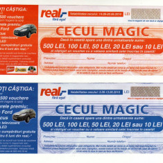 SET TICHET REAL CECUL MAGIC 2010
