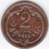 1) Austria Ungaria Transilvania 2 Heller 1910, Europa