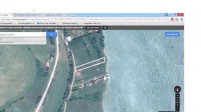Teren intravilan la Moacsa-Covasna, pe malul lacului foto