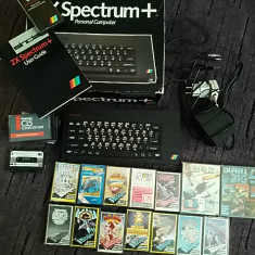 Consola / PC Zx Spectrum + 48Kb, la cutie