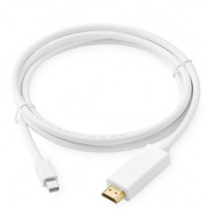 Cablu adaptor Mini DisplayPort - HDMI pt Apple Macbook iMac thunderbolt 1.8m - Adaptor interfata PC
