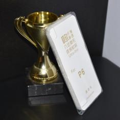 Husa noua Huawei Ascend P6 UltraSlim Silicon TRANSPARENTA protectie - Husa Telefon