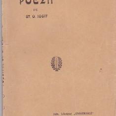 ST. O. IOSIF - POEZII ( INTERBELICA )