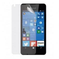 Folie protectie ecran Microsoft Lumia 550 Transparenta (Pachet 5 Bucati) - Folie de protectie Oem