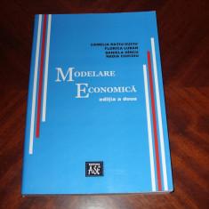 CAMELIA RATIU - SUCIU - MODELARE ECONOMICA ( stare foarte buna ) *