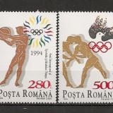 Romania.1994 Anul international al sportului olimpic-colita HR.380 - Timbre Romania, Nestampilat