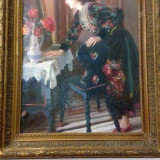 Tablou deosebit MARIA SZANTHO - Pictor strain, An: 1930, Portrete, Ulei, Impresionism