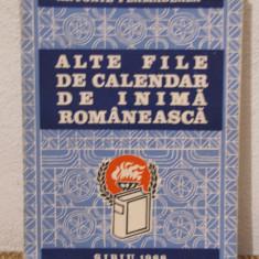 ALTE FILE DE CALENDAR DE INIMA ROMANEASCA -ANTONIE PLAMADEALA