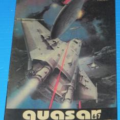 Revista QUASAR SF STIINTA SI IMAGINATIE NR 6-7 1993 brian aldiss (r5039 - Carte SF