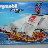 Playmobil 5618 - Barca piratilor - original, sigilat - Jocuri Seturi constructie, 4-6 ani