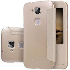 HUSA NILLKIN SPARKLE Huawei ASCEND G8 BONUS FOLIE ECRAN - Husa Telefon Nillkin, Auriu