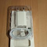 Incarcator compatibil iphone 5s + cablu date  iphone 5s