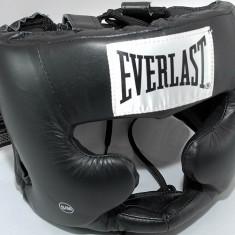 Everlast casca din piele cu protectie totala masura S/M - box - MMA - Noua - Casca protectie box